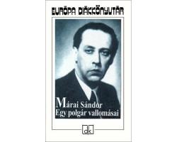 Márai Sándor: Egy polgár vallomásai 590Ft Antikvár könyvek
