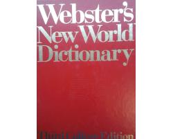 Webster's new world dictionary third college edition 1900Ft Antikvár könyvek