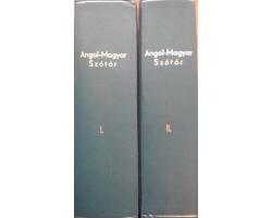 Angol-magyar nagyszótár I-II 1900Ft Antikvár könyvek