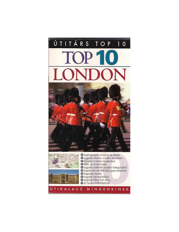 London TOP 10 2490Ft Útitárs útikönyvek