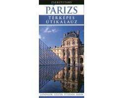 Párizs Zsebútitárs 1192Ft Útitárs útikönyvek