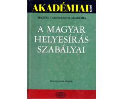 A magyar helyesírás szabályai 900Ft Antikvár könyvek