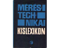 Méréstechnikai kislexikon 990Ft Antikvár könyvek