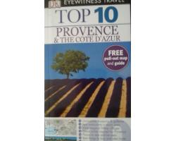 Provence & the Cote d'Azur TOP 10 - ANGOL 990Ft Antikvár könyvek