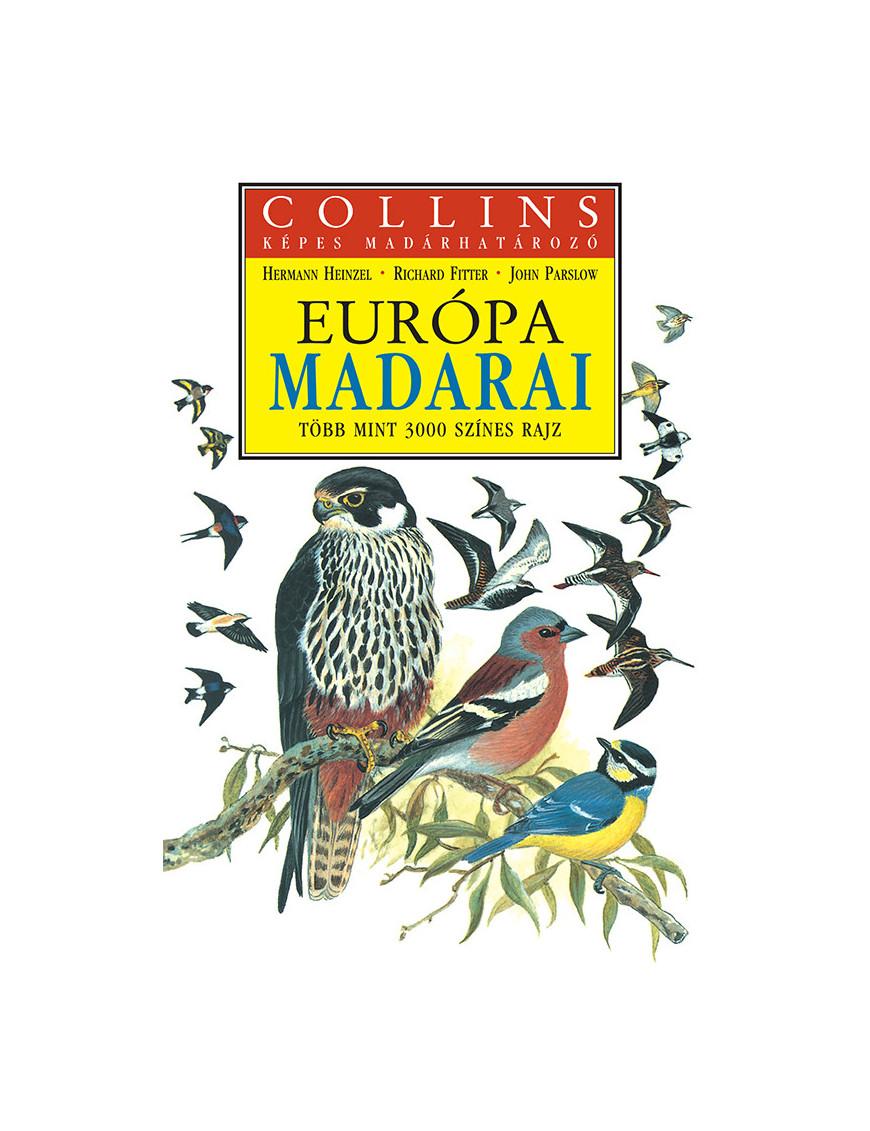 Európa madarai 4720Ft Természettudomány