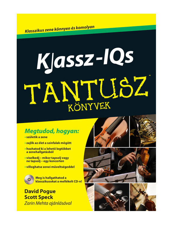 Klassz-IQs 3120Ft TANTUSZ Könyvek