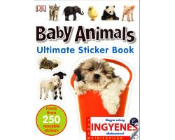 Baby Animals matricavilág – angol nyelvű matricás foglalkoztató 1000Ft Iskolásoknak, felvételizőknek