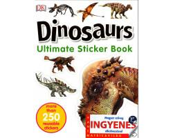 Dinosaurs matricavilág – angol nyelvű matricás foglalkoztató 1592Ft Iskolásoknak, felvételizőknek