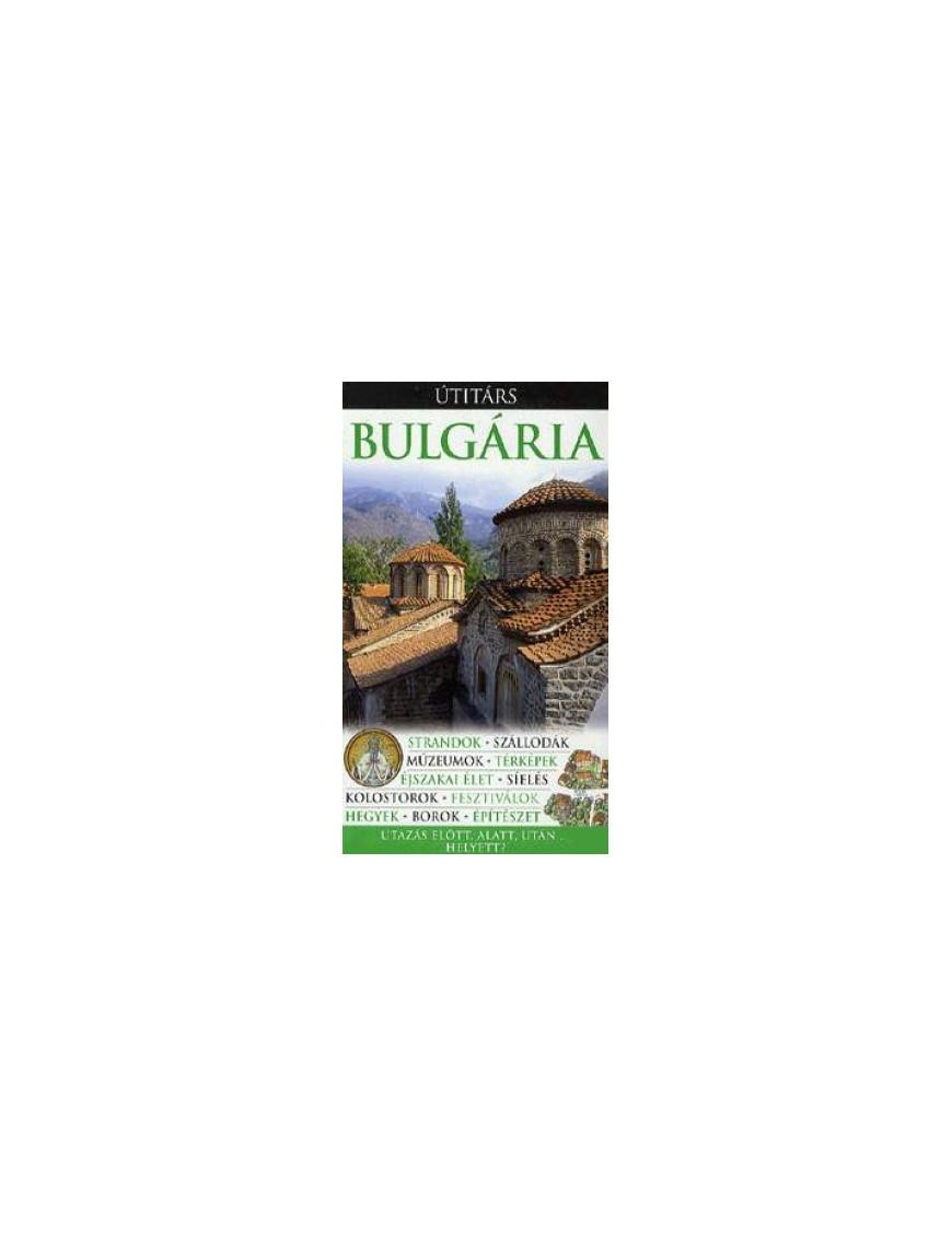 Bulgária Útitárs 6000Ft Útitárs útikönyvek