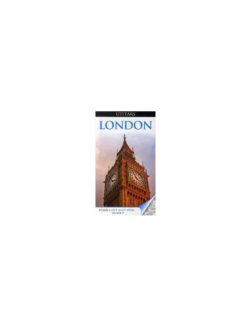 London Útitárs 7500Ft Útitárs útikönyvek