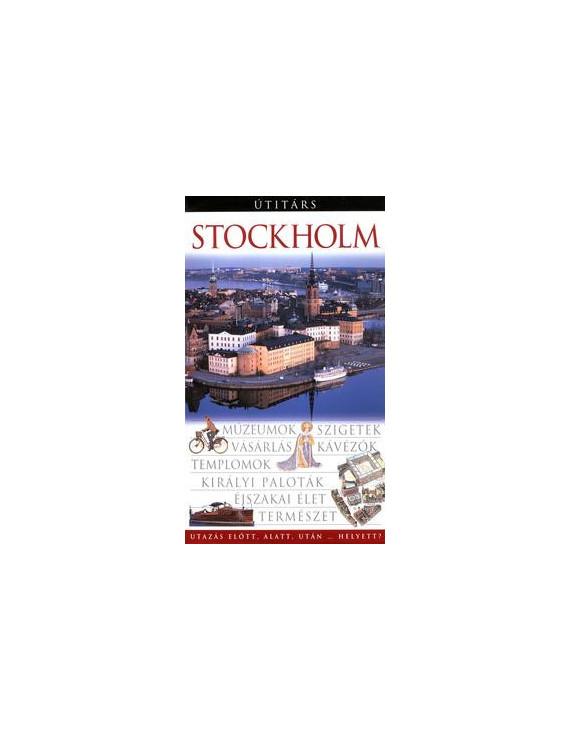 Stockholm Útitárs 4000Ft Útitárs útikönyvek