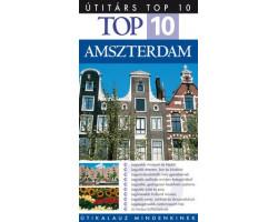 Amszterdam TOP 10 1992Ft Útitárs útikönyvek