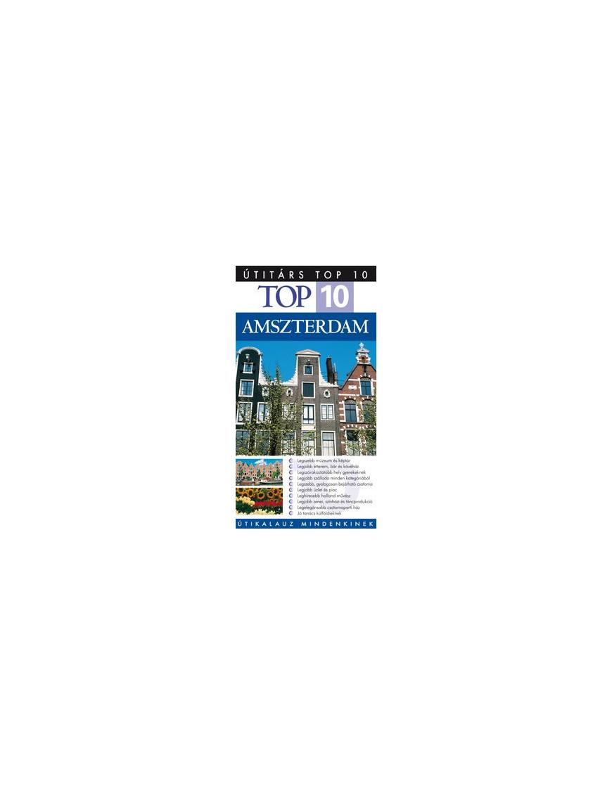 Amszterdam TOP 10 2490Ft Útitárs útikönyvek