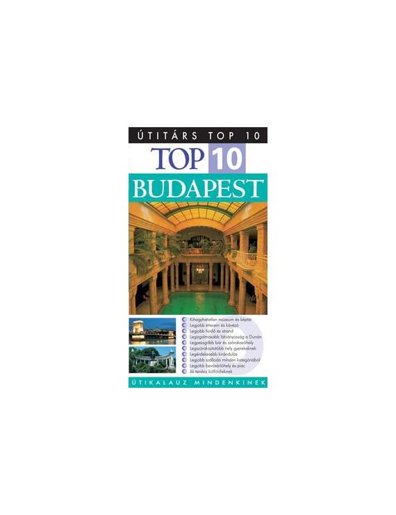 Budapest TOP 10 1992Ft Útitárs útikönyvek