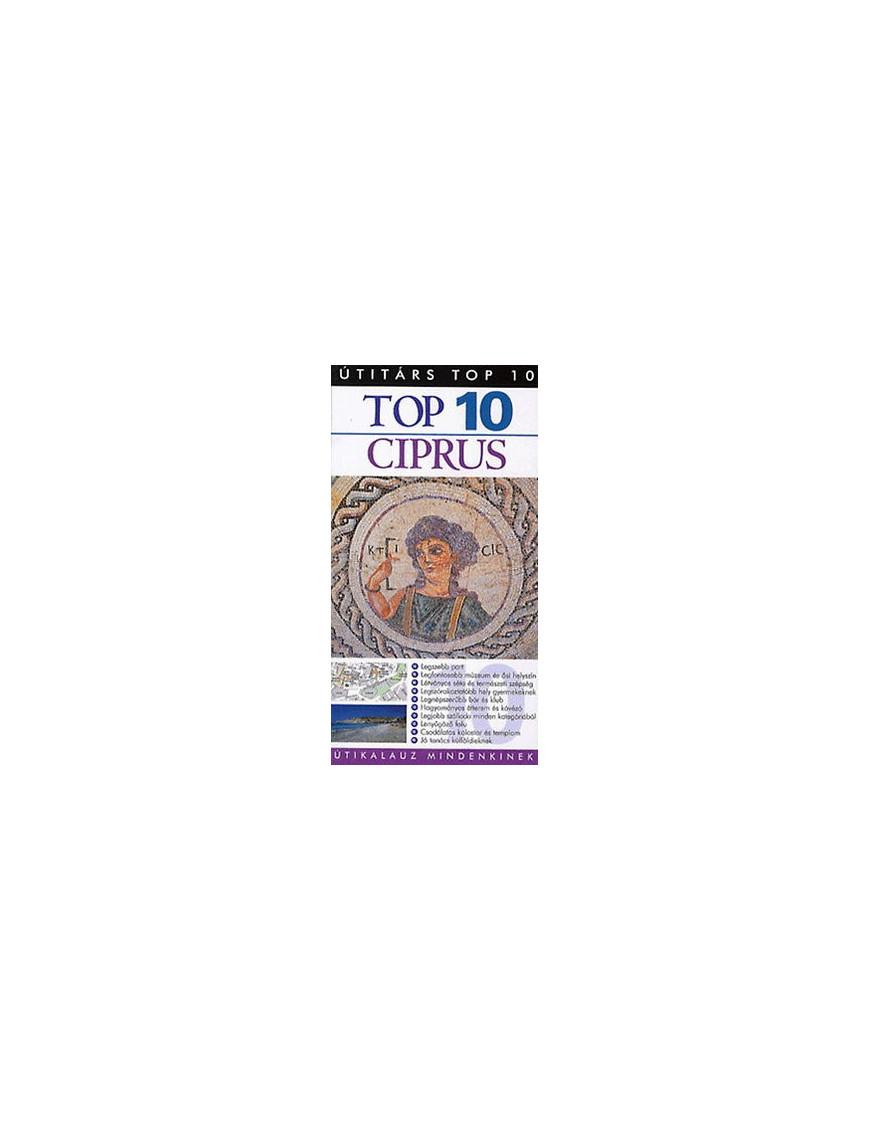 Ciprus TOP 10 2490Ft Útitárs útikönyvek