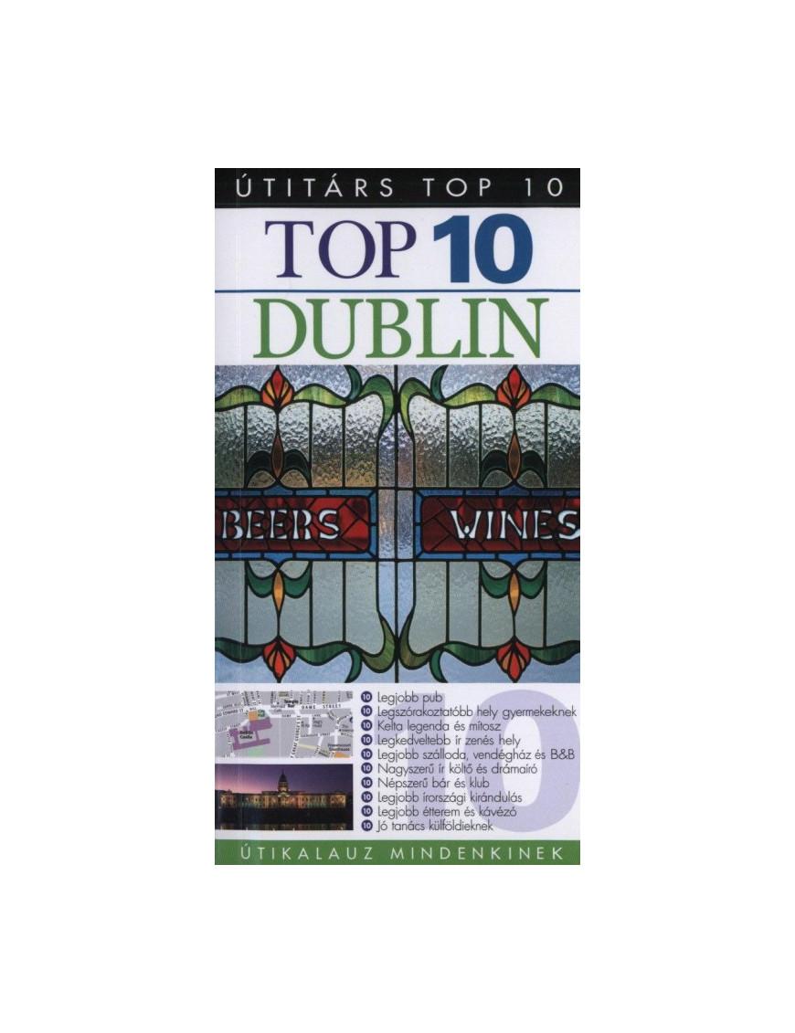 Dublin TOP 10 2490Ft Útitárs útikönyvek