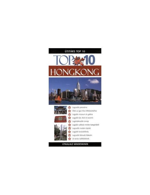 Hongkong TOP 10 2490Ft Útitárs útikönyvek