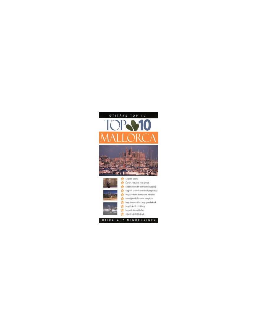 Mallorca TOP 10 2490Ft Útitárs útikönyvek