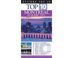 Montreal és Québec City TOP 10 1992Ft Útitárs útikönyvek