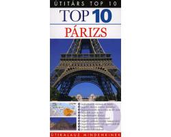 Párizs TOP 10 1992Ft Útitárs útikönyvek