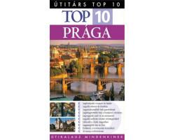 Prága TOP 10 1992Ft Útitárs útikönyvek