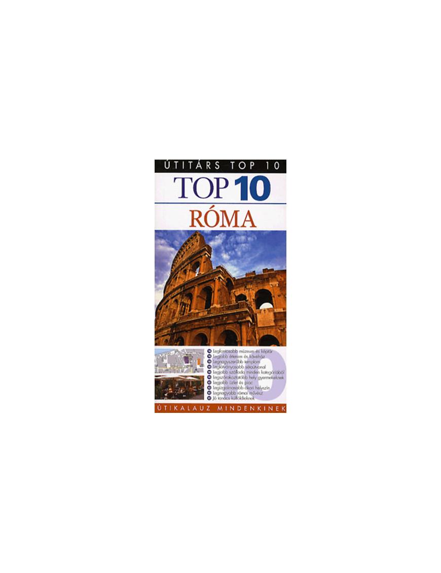 Róma TOP 10 1992Ft Útitárs útikönyvek