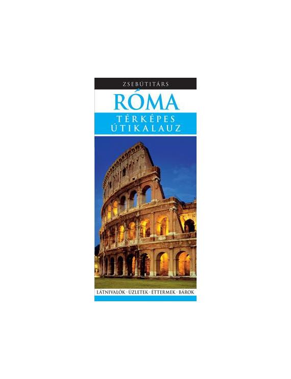 Róma Zsebútitárs 1490Ft Útitárs útikönyvek