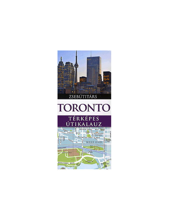 Toronto Zsebútitárs 1192Ft Útitárs útikönyvek