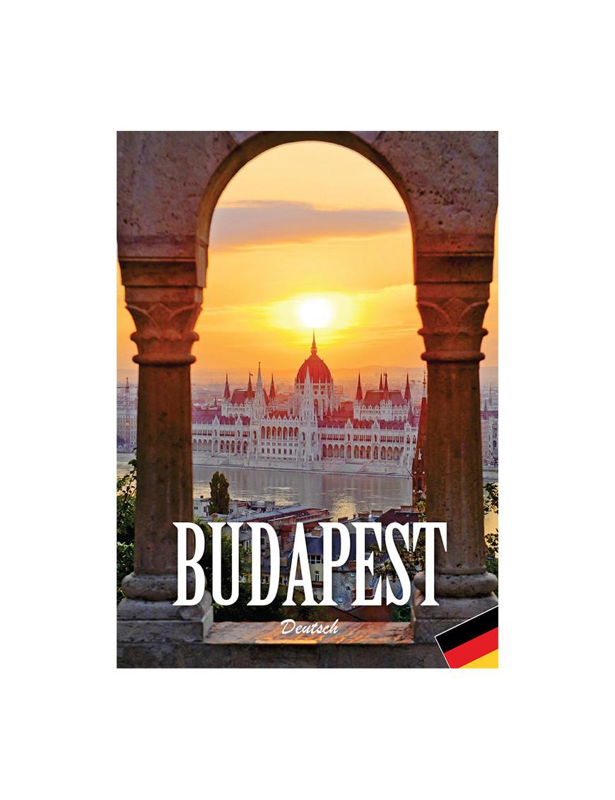 Budapest útikönyv német nyelven 1032Ft Idegen nyelvű könyvek