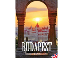 Budapest útikönyv angol nyelven 1032Ft Idegen nyelvű könyvek
