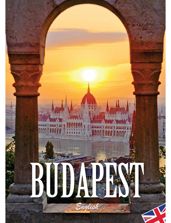 Budapest útikönyv angol nyelven 1290Ft Idegen nyelvű könyvek