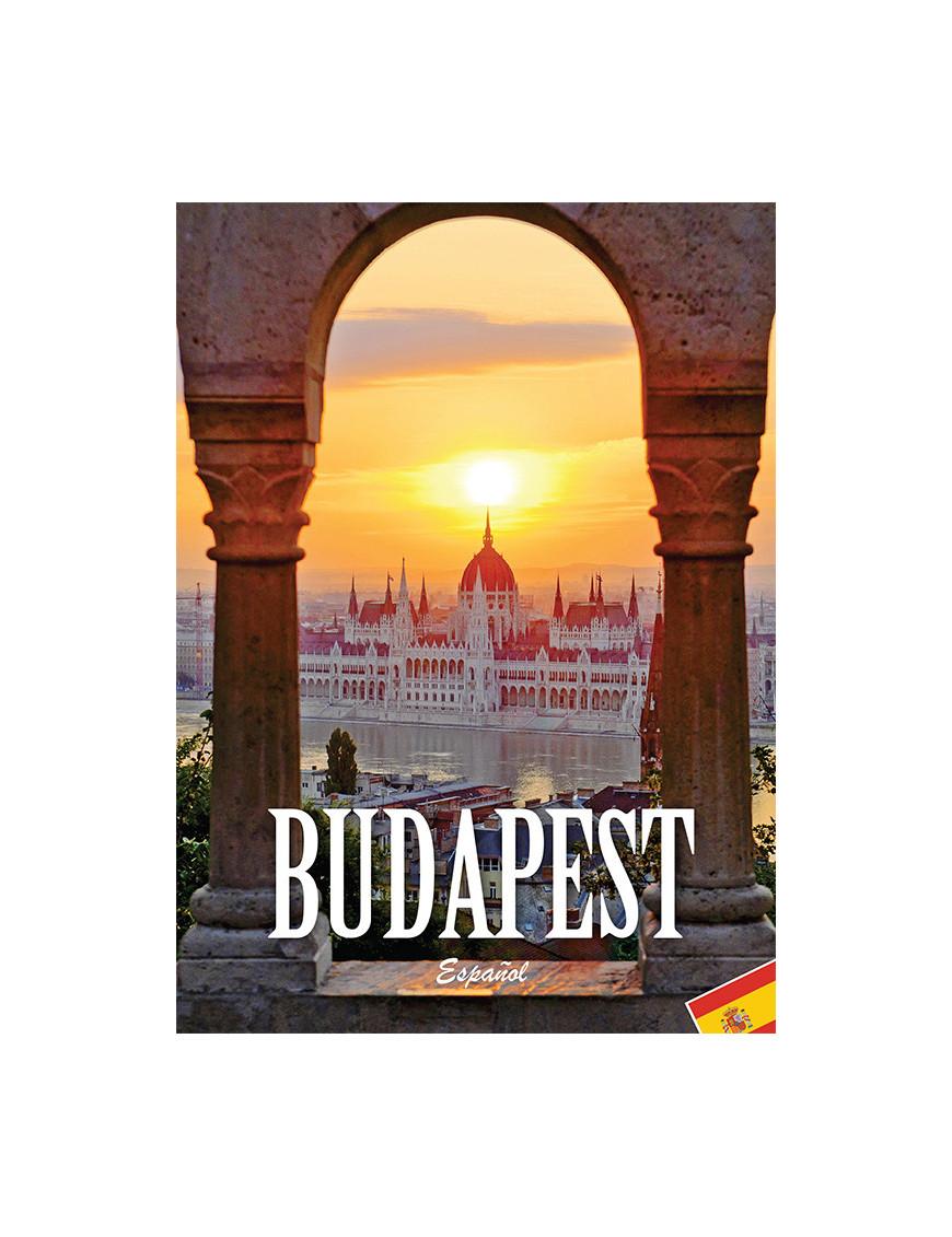 Budapest útikönyv spanyol nyelven 1290Ft Idegen nyelvű könyvek