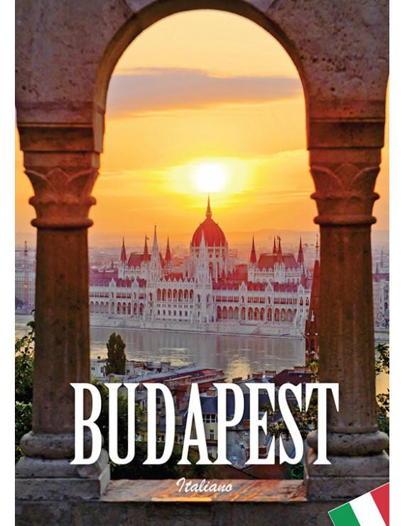 Budapest útikönyv olasz nyelven 1290Ft Idegen nyelvű könyvek