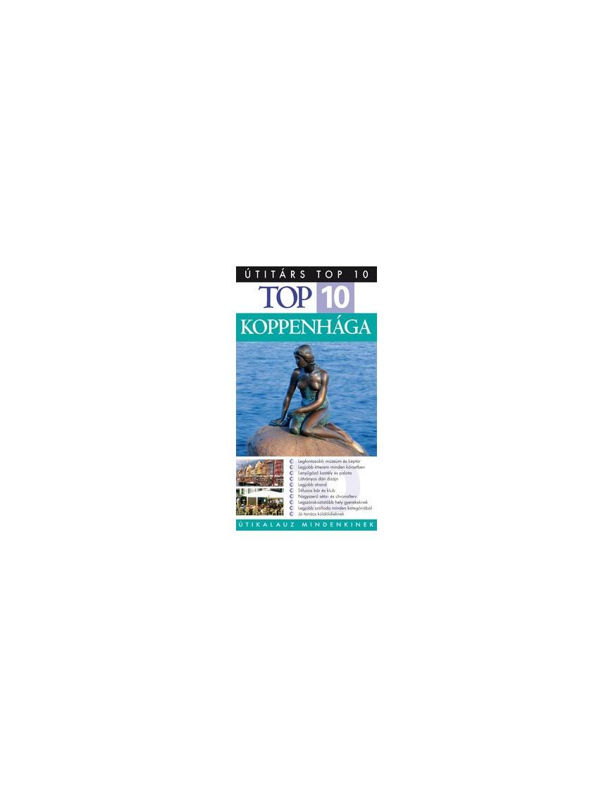 Koppenhága Top 10 1992Ft Útitárs útikönyvek