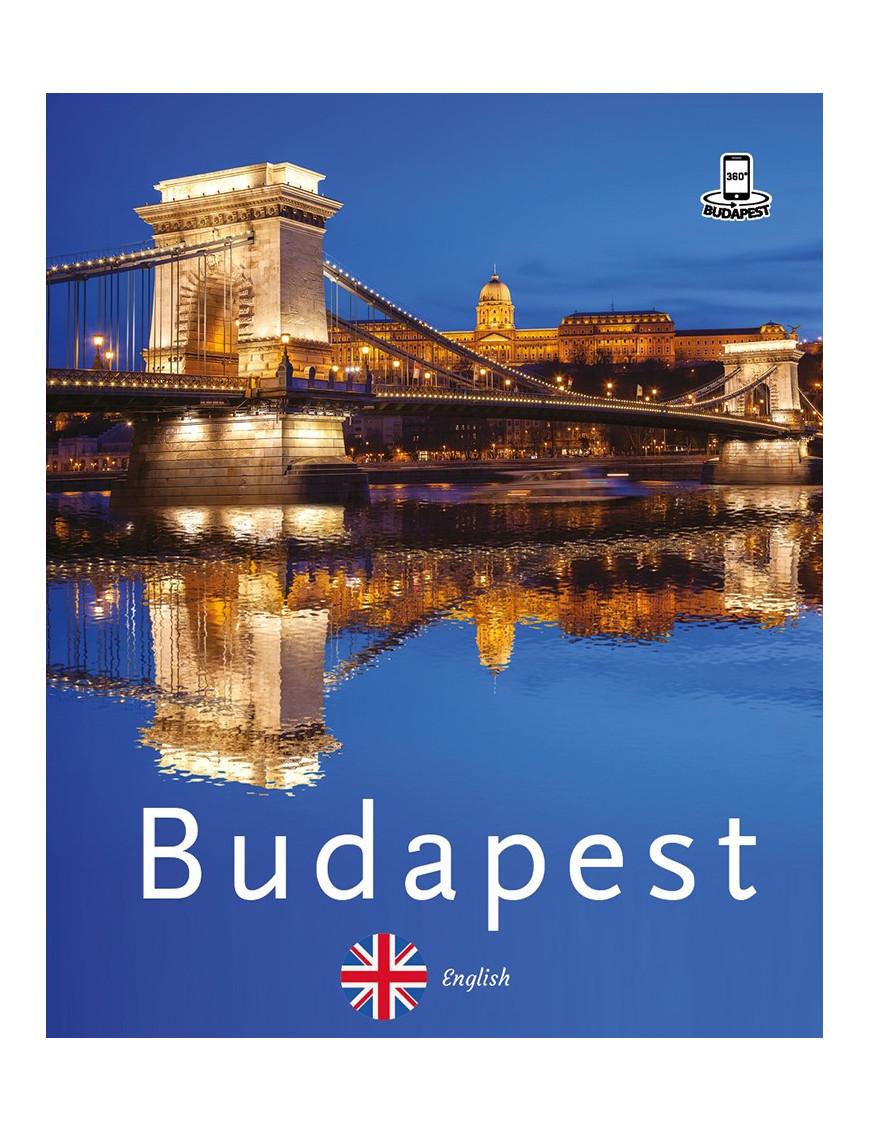 Budapest 360° útikalauz mobil alkalmazással – angol 2400Ft Idegen nyelvű könyvek