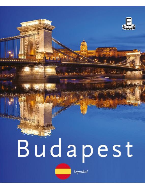 Budapest 360° fényképes útikalauz – spanyol 2400Ft Idegen nyelvű könyvek