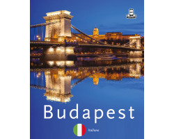 Budapest 360° fényképes útikalauz – olasz 1920Ft Idegen nyelvű könyvek