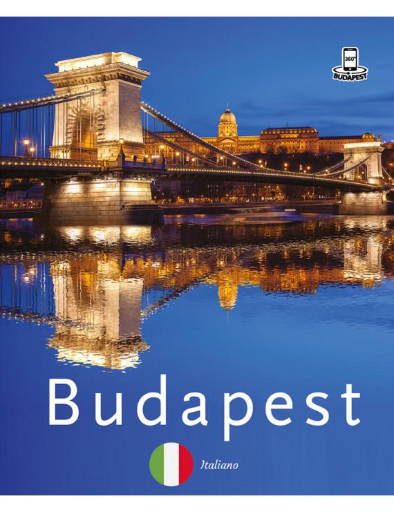 Budapest 360° fényképes útikalauz – olasz 2400Ft Idegen nyelvű könyvek