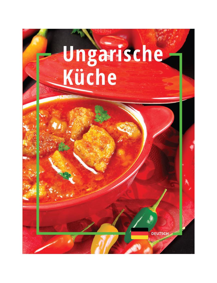 Ungarische küche 1192Ft Idegen nyelvű könyvek