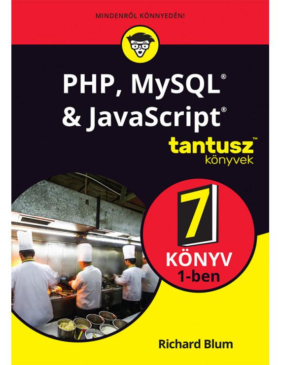 PHP, MySQL, Javascript &HTML 6800Ft TANTUSZ Könyvek