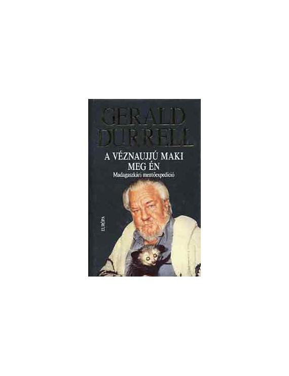 Gerald Durrell: A véznaujjú maki meg én 990Ft Antikvár könyvek