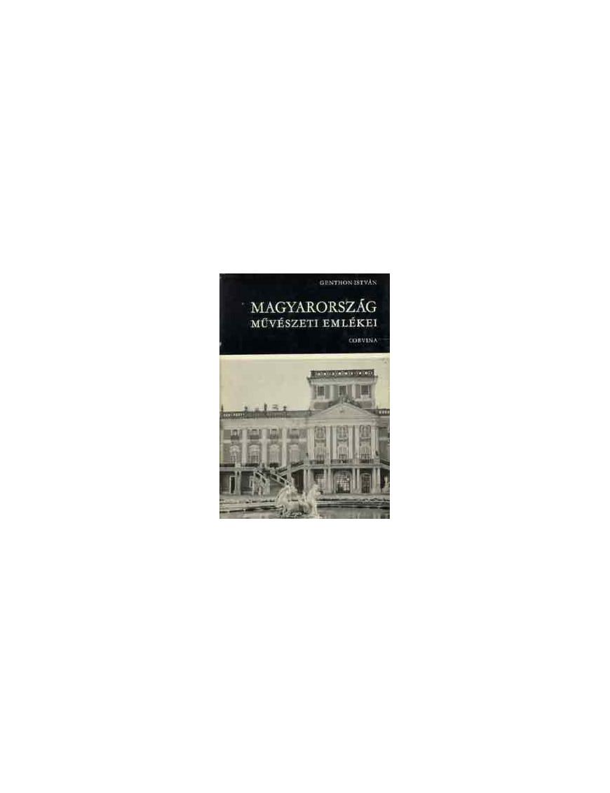 Magyarország művészeti emlékei 590Ft Antikvár könyvek