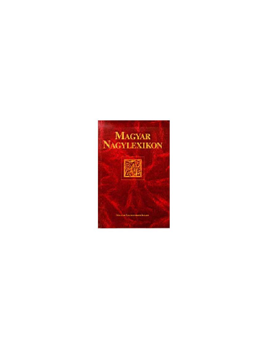 Magyar Nagylexikon 14. NYL-POM 1100Ft Antikvár könyvek