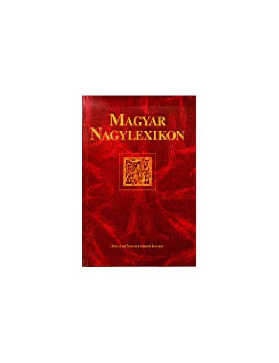 Magyar Nagylexikon 18. UNH-Z 1100Ft Antikvár könyvek