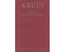 Krúdy Gyula: Regények és elbeszélések 1. 590Ft Antikvár könyvek