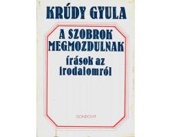 Krúdy Gyula: A szobrok megmozdulnak 590Ft Antikvár könyvek