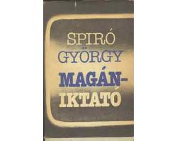 Spiró György: Magániktató 590Ft Antikvár könyvek