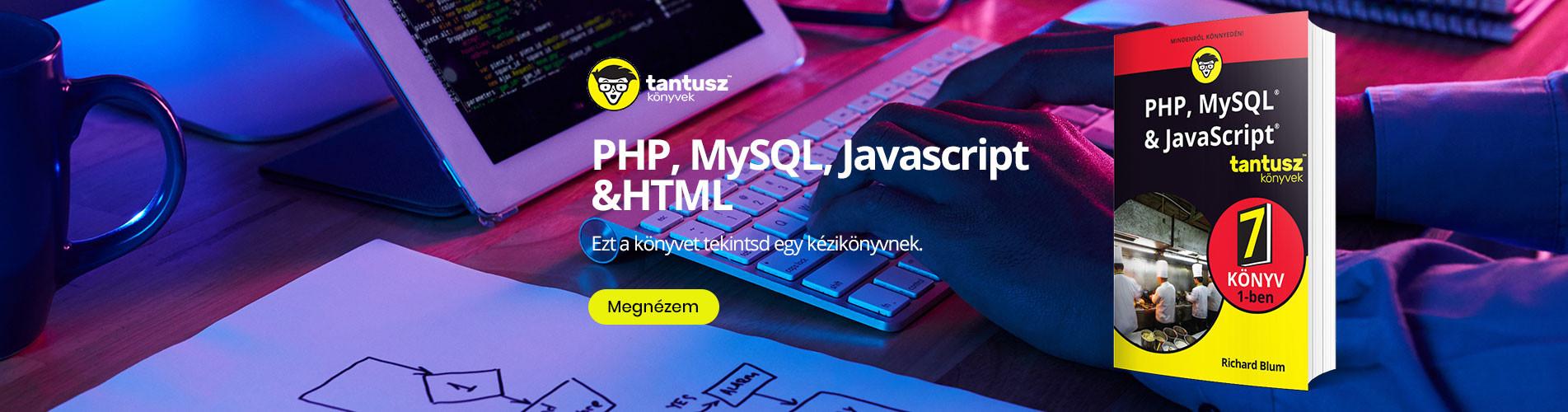 PHP, MySQL, Javascript &HTML